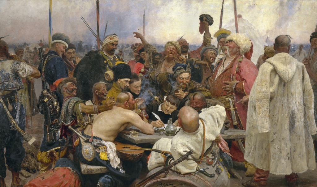 Zaporozhian Cossacks reply to the Turkish Sultan