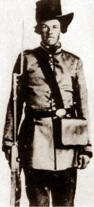 Val Gile, Texas soldier